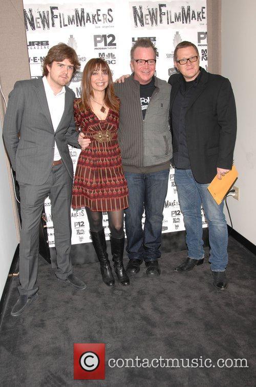Tom Bannister, Ileana Douglas, Tom Arnold  screening...