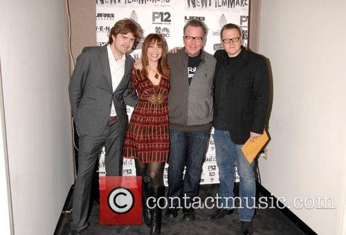 Tom Bannister, Ileana Douglas and Tom Arnold...