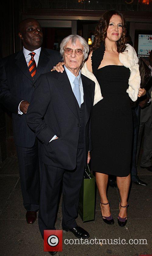 Bernie Ecclestone and Slavica Ecclestone 2