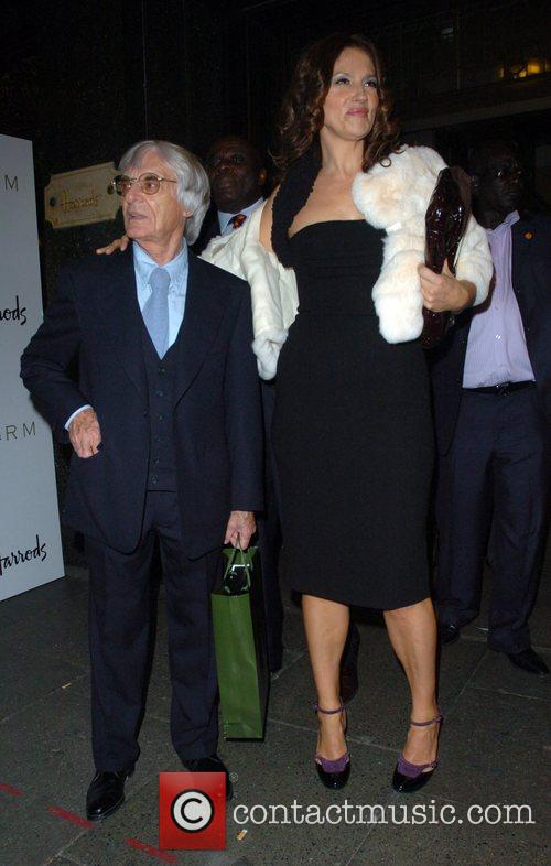 Bernie Ecclestone and Slavica Ecclestone 1