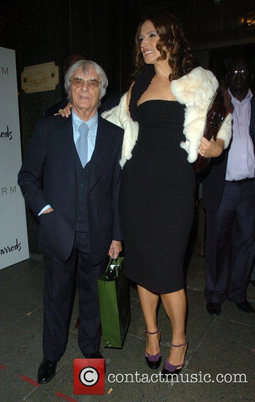 Bernie Ecclestone and Slavica Ecclestone 3
