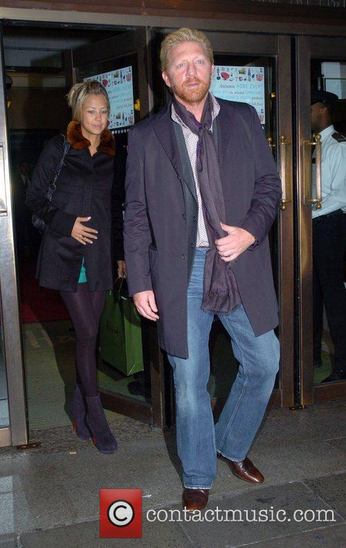 Boris Becker and guest Petra Ecclestone launches her...