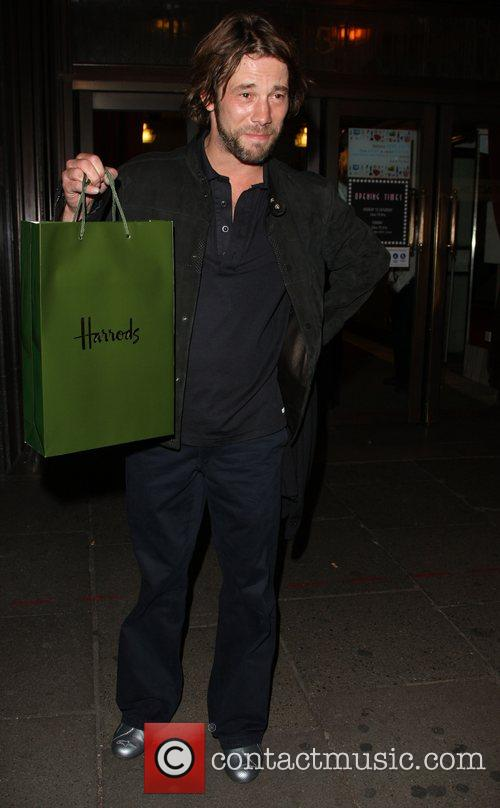 Departing the launch party for Petra Ecclestone's Form...