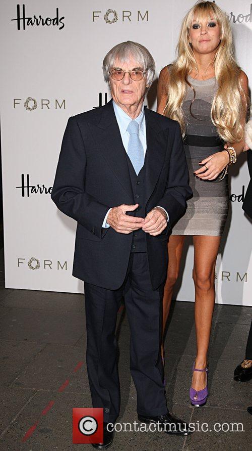 Bernie Ecclestone and Petra Ecclestone 2