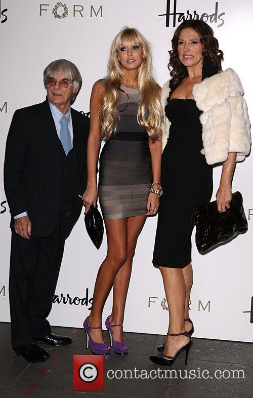 Bernie Ecclestone, Petra Ecclestone and Slavica Ecclestone 5