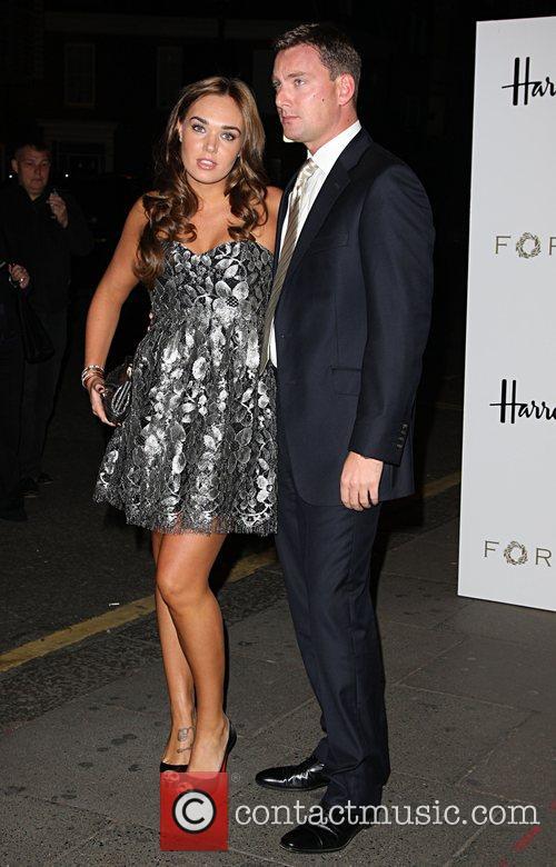 Tamara Ecclestone with her boyfriend Petra Ecclestone launches...