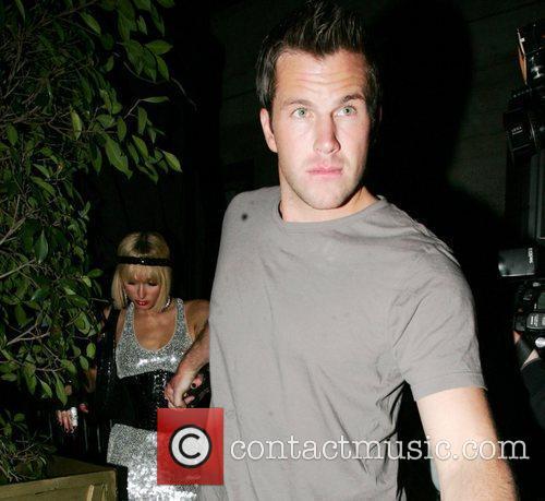 Paris Hilton and Doug Reinhardt leaving Echo