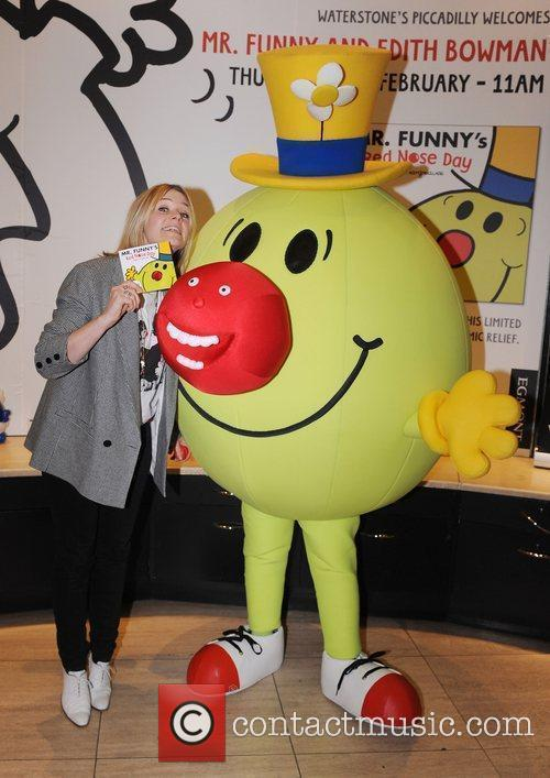 Mr Funny's Red Nose Day book launch held...