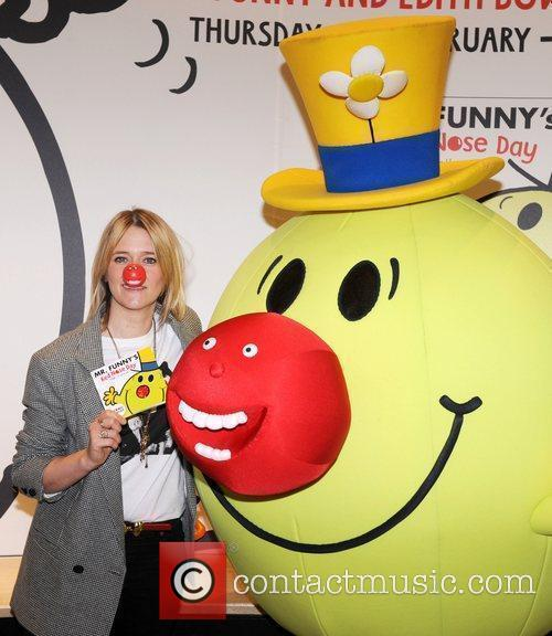 Edith Bowman  attends a photocall with 'Mr.Funny'...