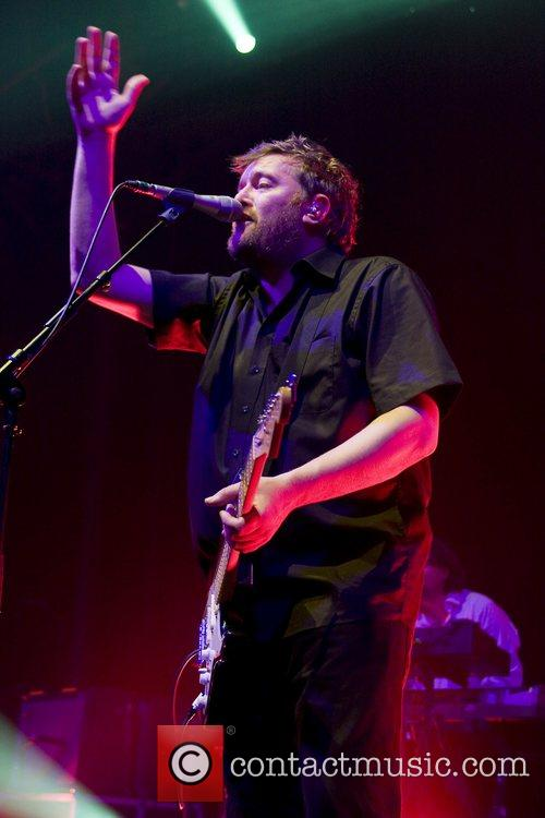 Elbow performs at The Roundhouse, Camden Town.