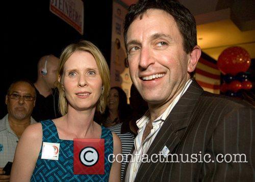 Cynthia Nixon and Obama campaign official Matt Nosanchuk...