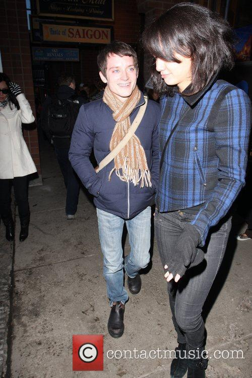 Elijah Wood and Girlfriend Pamela Racine 10