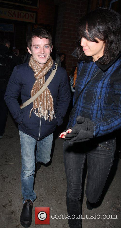 Elijah Wood and Girlfriend Pamela Racine 11