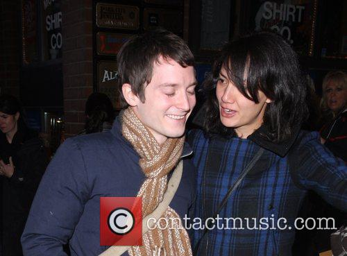 Elijah Wood and Girlfriend Pamela Racine 4