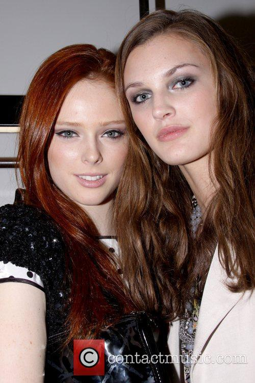Coco Rocha and Guest Private Elite Model Party...