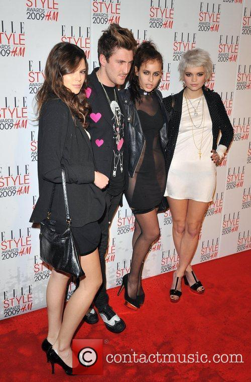 Guest, Henry Holland, Alice Dellal and Pixie geldof...