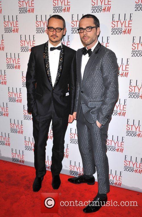 Viktor Horsting and Rolf Snoeren Elle Style Awards...