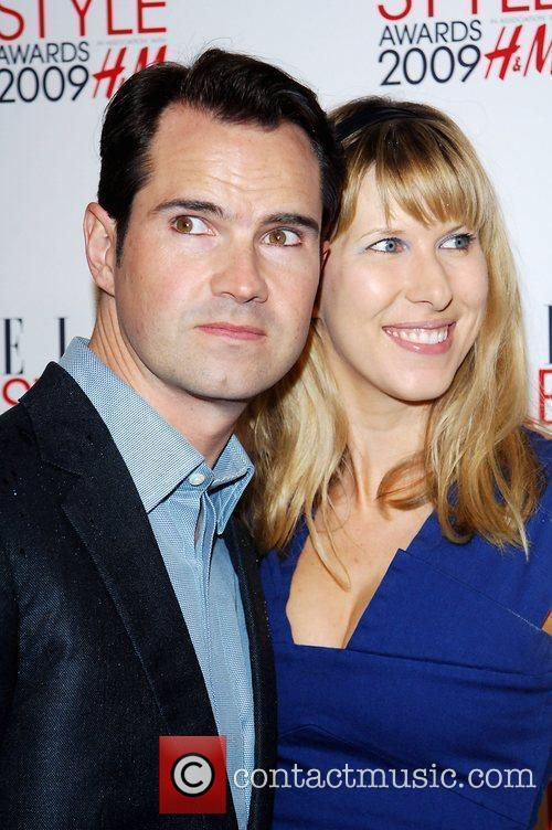 Jimmy Carr and guest Elle Style Awards held...