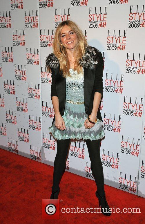 Sienna Miller Elle Style Awards held at Big...