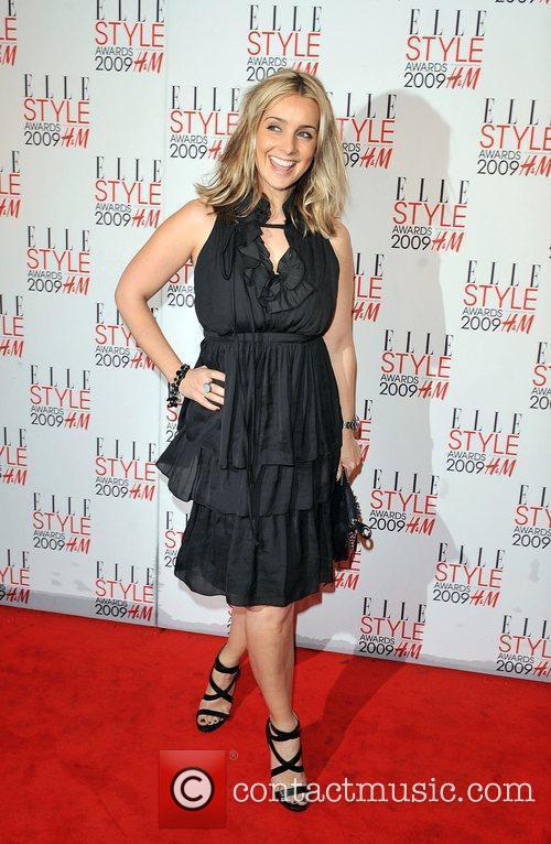 Louise Redknapp Elle Style Awards held at Big...