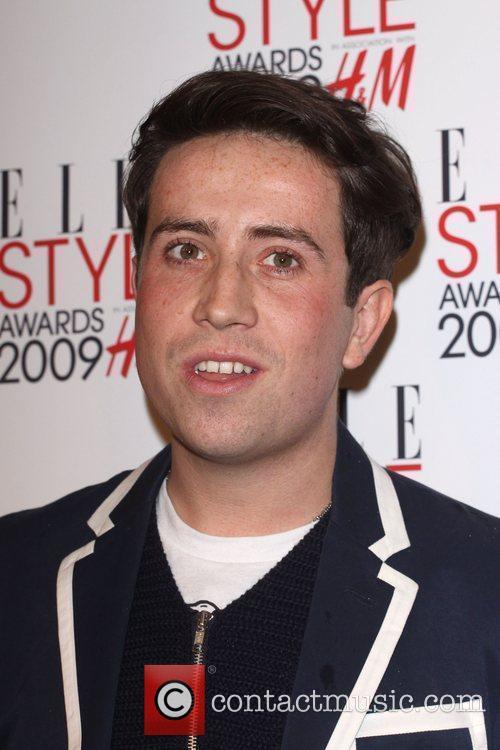 Nick Grimshaw Elle Style Awards held at Big...