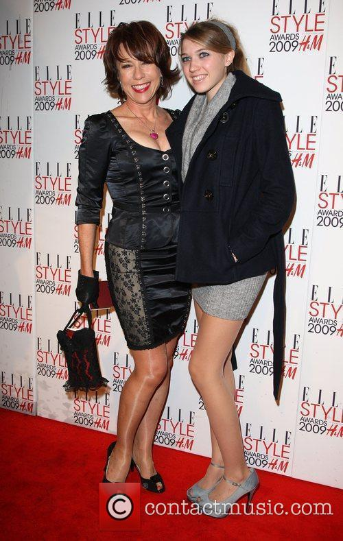 Kathy Lette with her daughter Elle Style Awards...
