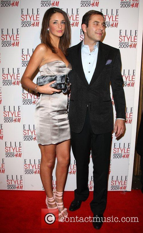 David Walliams and guest Elle Style Awards held...