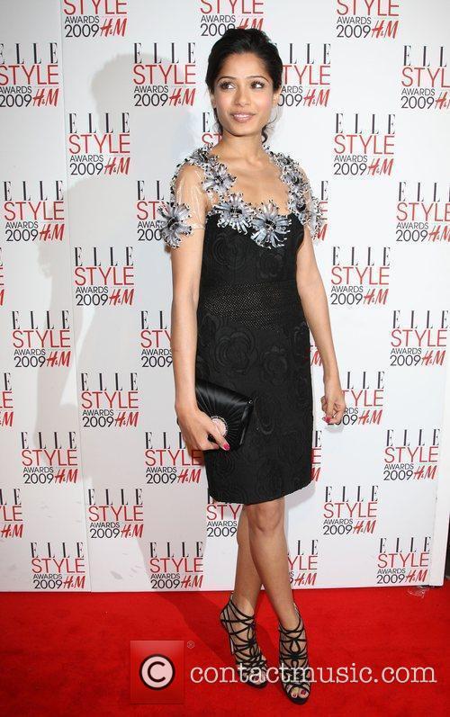 Frieda Pinto Elle Style Awards held at Big...