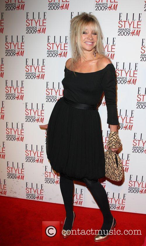 Jo Wood Elle Style Awards held at Big...