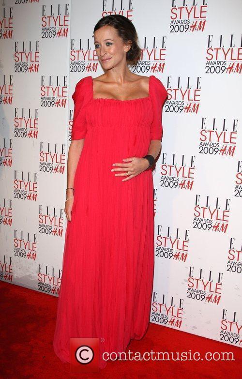 Leah Wood Elle Style Awards held at Big...