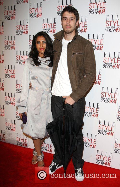 Toby Kebbell and guest Elle Style Awards held...