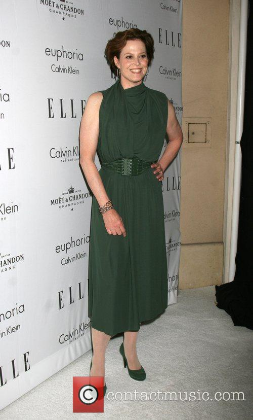 Sigourney Weaver Elle's Women in Hollywood event at...
