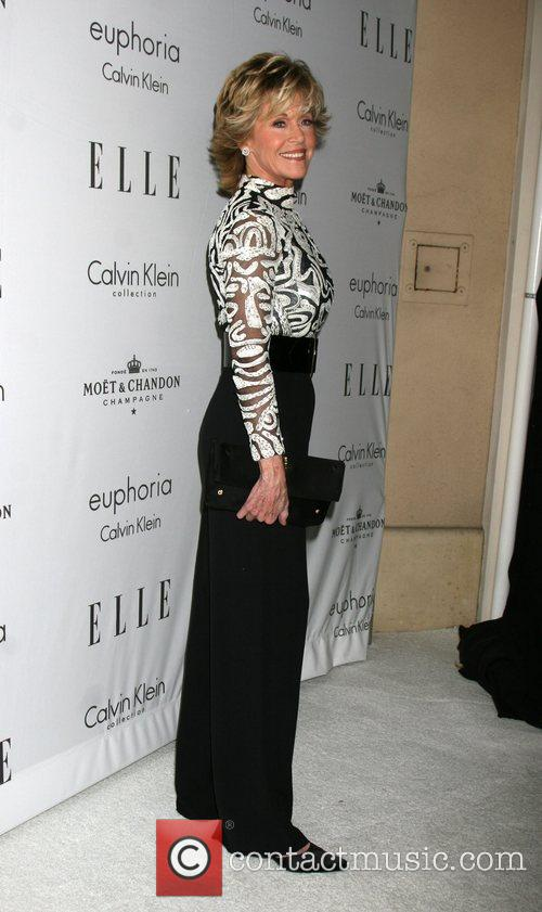 Jane Fonda Elle's Women in Hollywood event at...