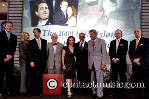 Tom Strickland, Candice Bergen, Gloria Estefan, Jerry Seinfeld and Seinfeld 2