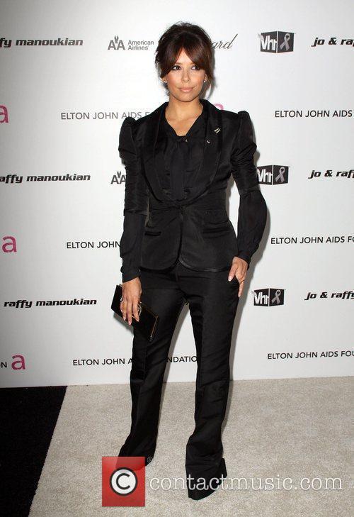 Eva Longoria and Elton John 2