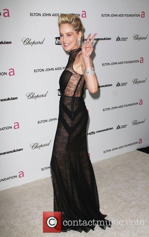 Sharon Stone, Elton John and Academy Awards 2