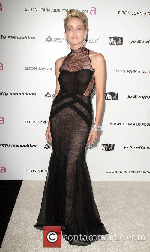 Sharon Stone, Elton John and Academy Awards 1