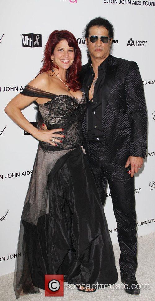 Perla Hudson and Elton John 1