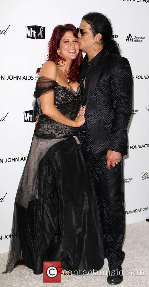 Perla Hudson and Elton John 2