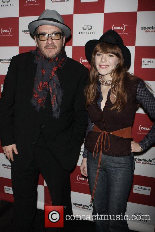 Elvis Costello and Jenny Lewis 7