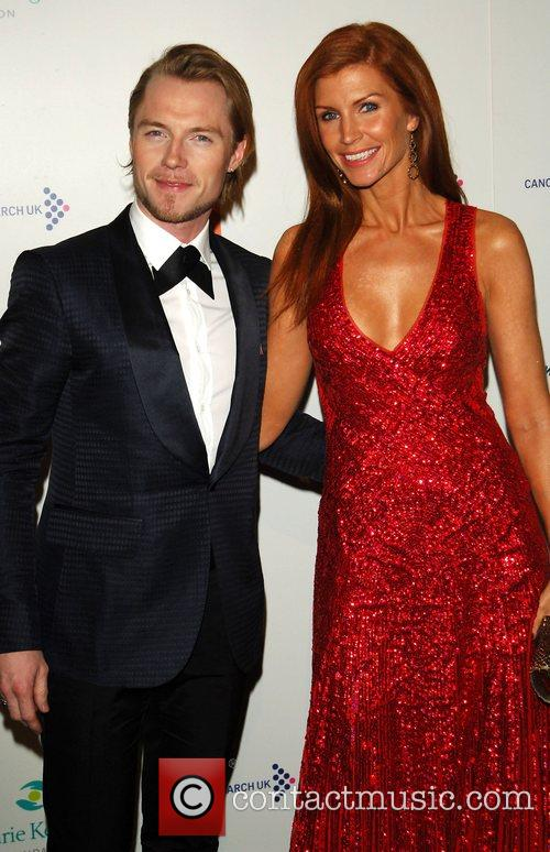 Ronan Keating and Wife 3