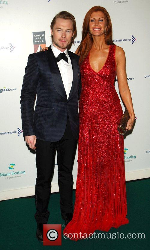 Ronan Keating and Wife 4