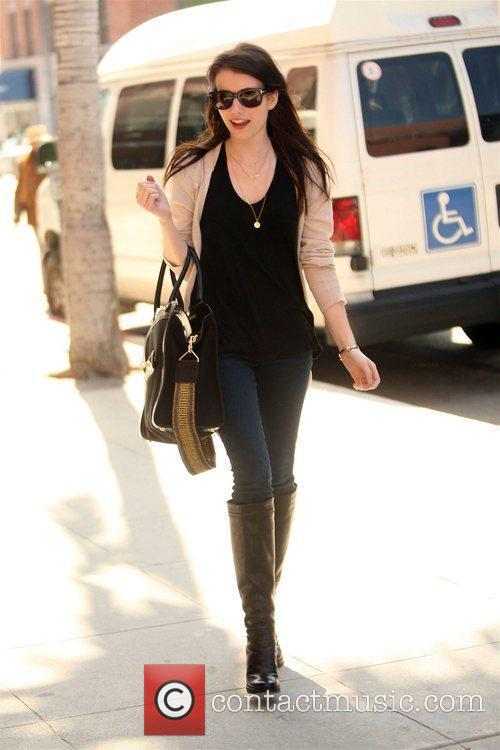 Leaving a medical center in Beverly hills with...