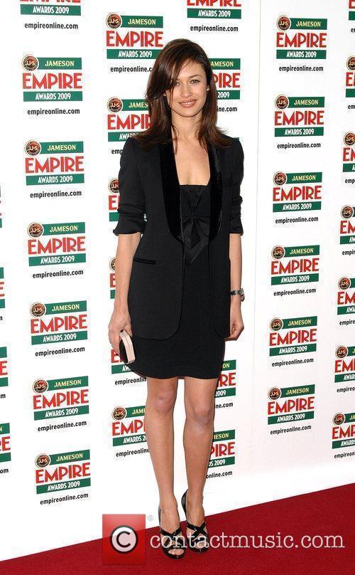 Olga Kurylenko Jameson Empire Film Awards held at...