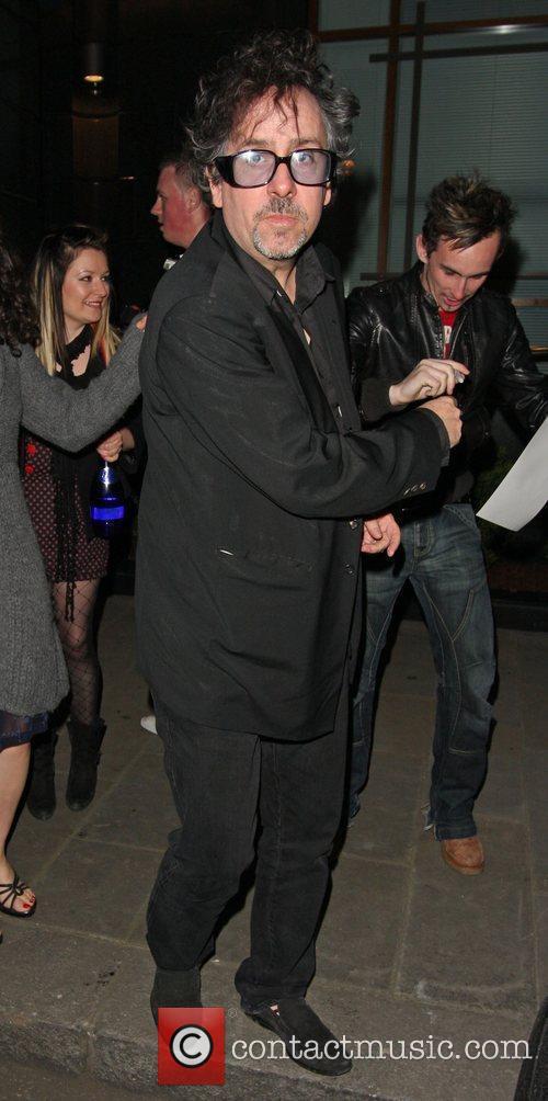 Tim Burton at the Jameson Empire Awards After...