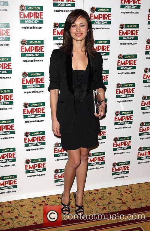 Olga Kurylenko winner of the Best Thriller award...