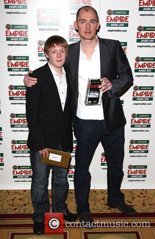 Thomas Turgoose, James Watkins Winners Of Best Horror Award For Eden Lake and Grosvenor House 3