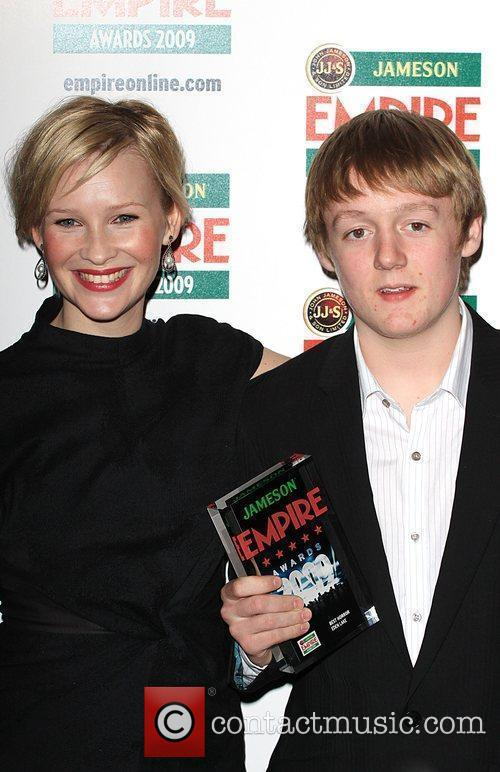 Joanna Page, Thomas Turgoose Winners Of The Best Horror Award For 'eden Lake' and Grosvenor House 4