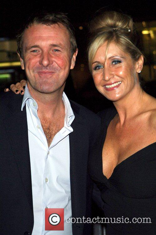 Phil Tufnell and Dawn Tufnell arrive to the...