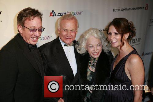 Tim Allen, Buzz Aldrin, Lois Driggs Cannon and...